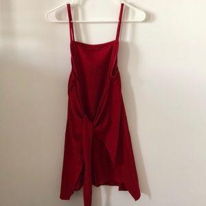 Sabo Skirt Red Knit Dress
